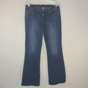 Lucky Brand Womens Boot Leg Jeans Blue Medium Wash